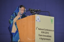 5th National conference on KVK – 2010